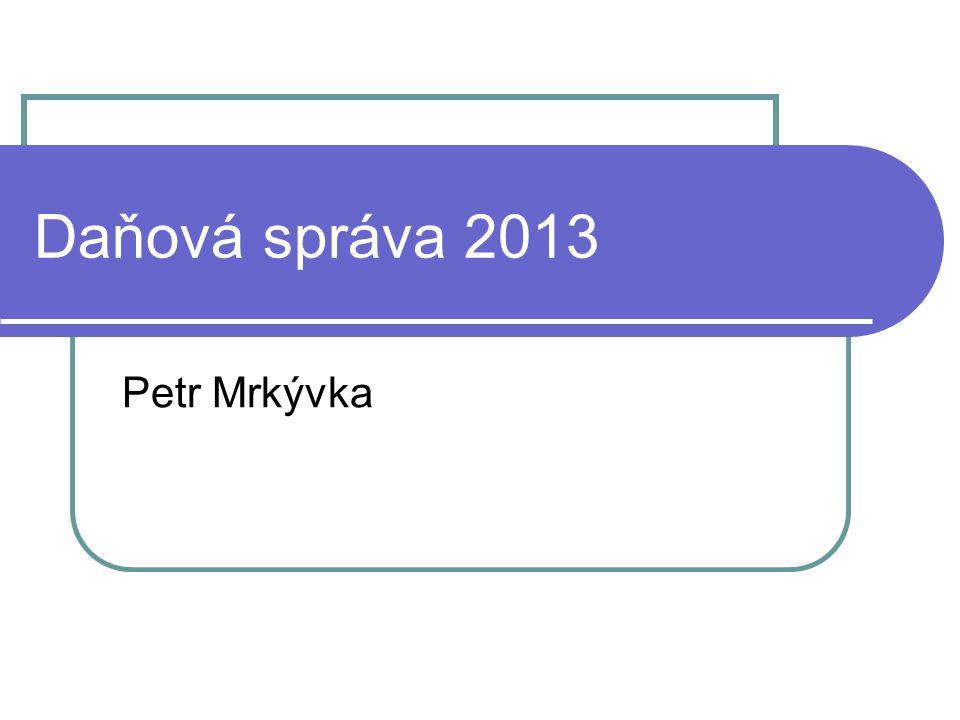 Finanční správa České republiky Zákon č. 456/2011 Sb. (ZFS)