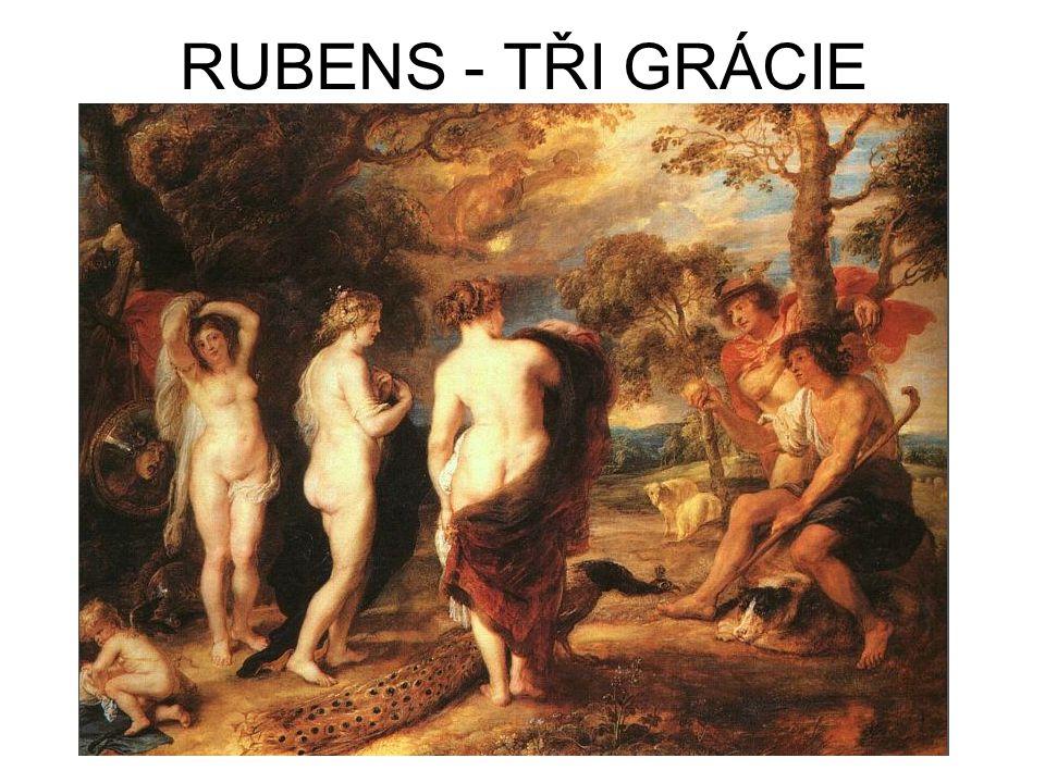 RUBENS - TŘI GRÁCIE