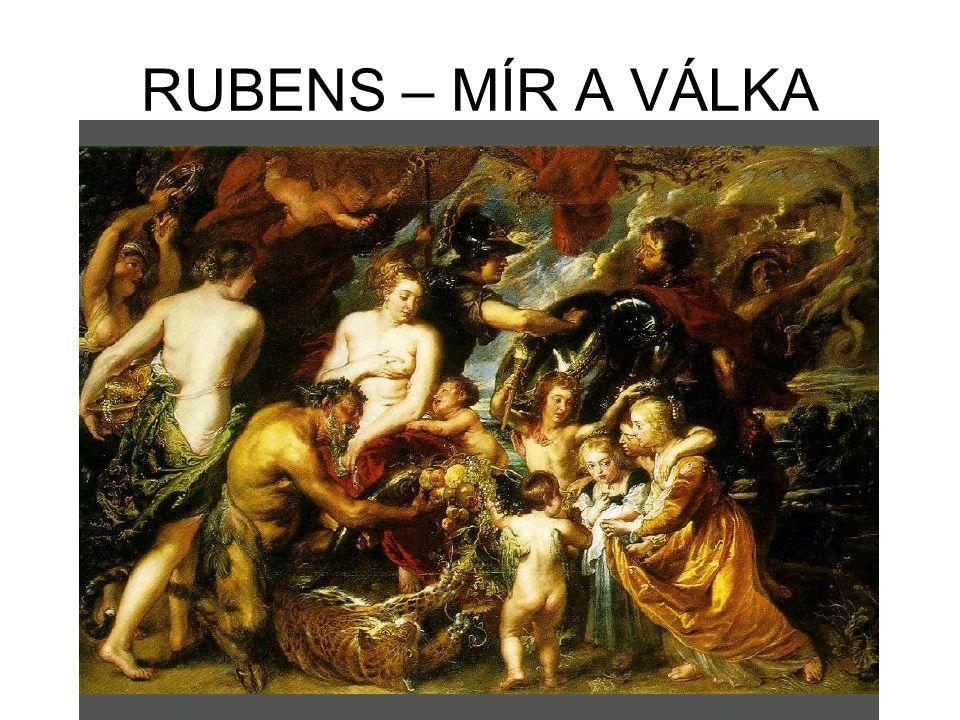 RUBENS – MÍR A VÁLKA