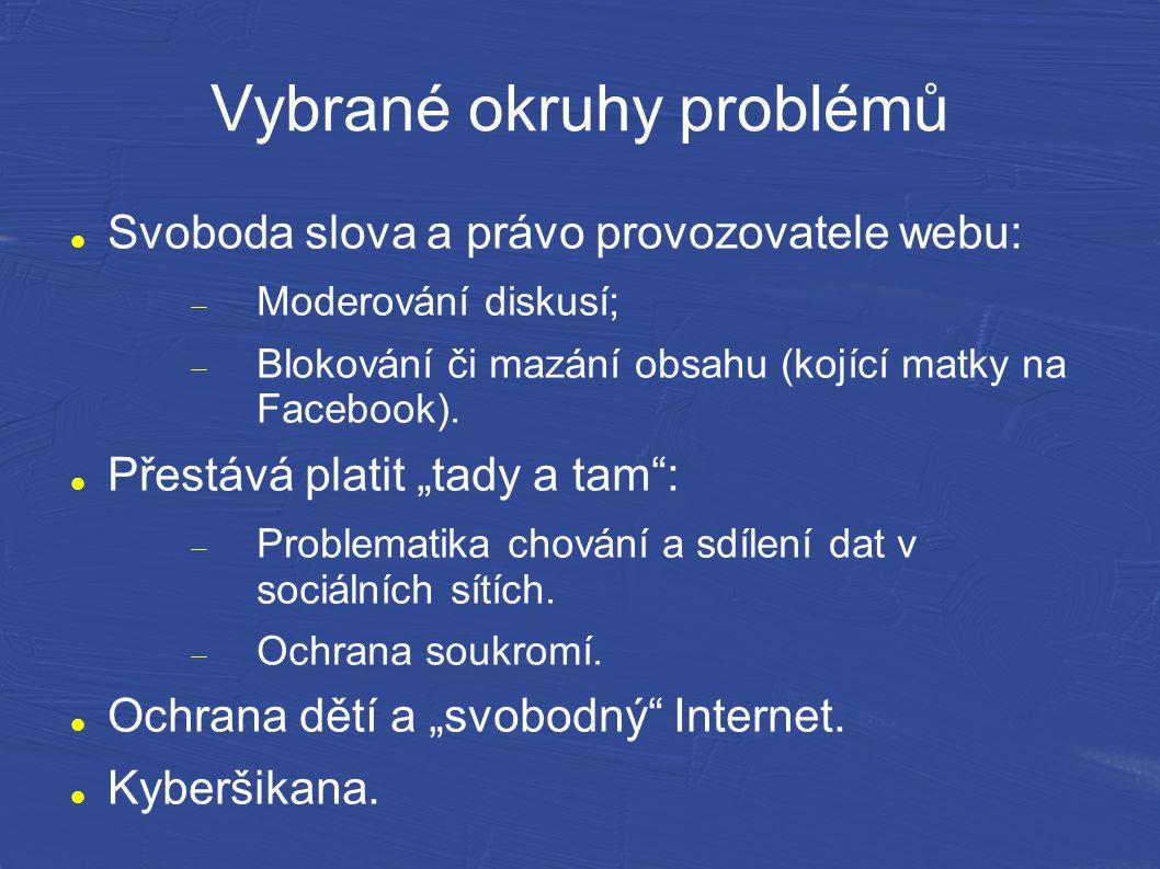 Řešení Řešením může být například nepřetržité monitorování celého Internetu s důsledkem ztráty anonymity všech uživatelů.