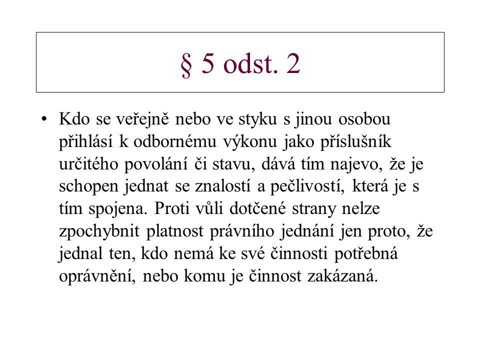 § 5 odst.