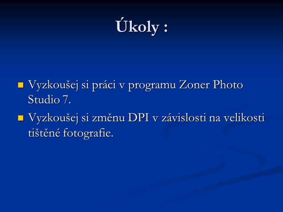 Vyzkoušej si práci v programu Zoner Photo Studio 7.