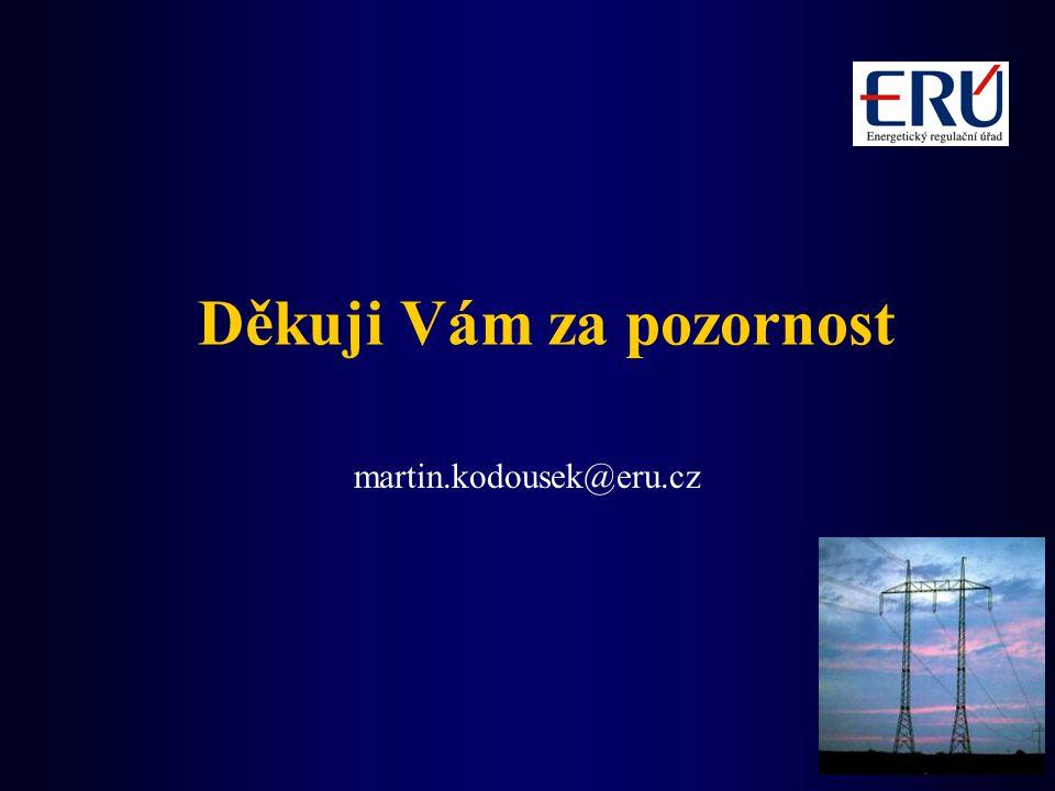Děkuji Vám za pozornost martin.kodousek@eru.cz