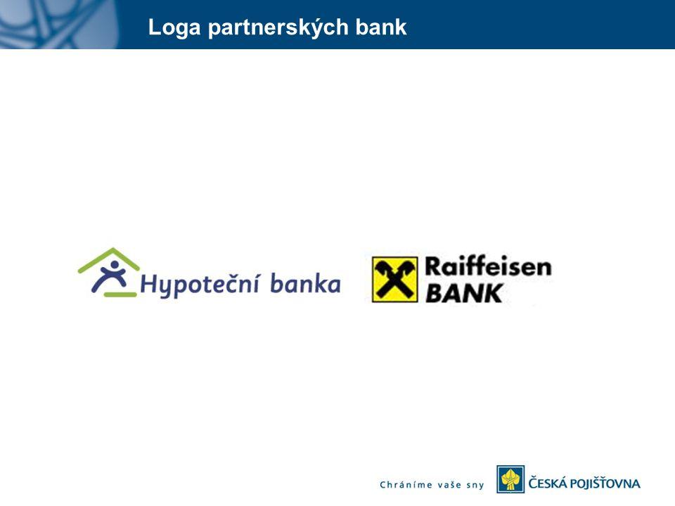 Loga partnerských bank