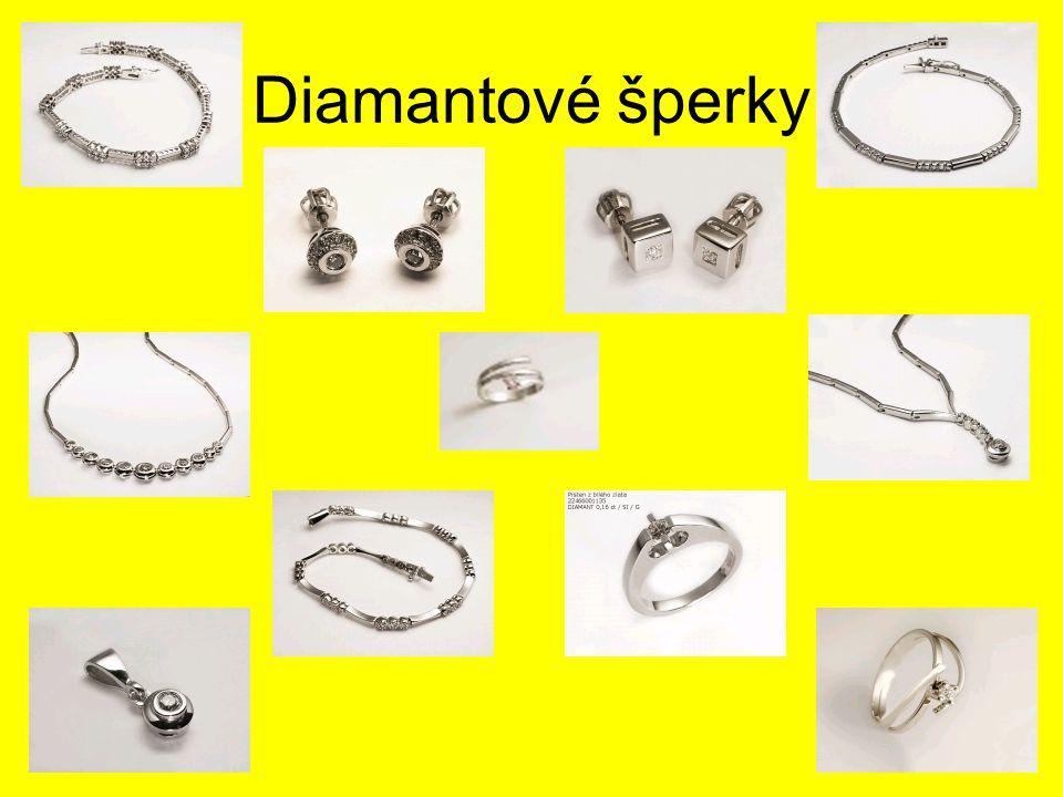 Diamantové šperky