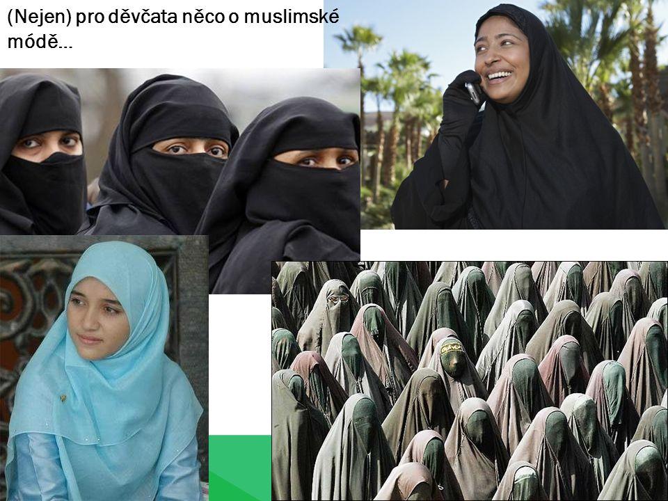 (Nejen) pro děvčata něco o muslimské módě…
