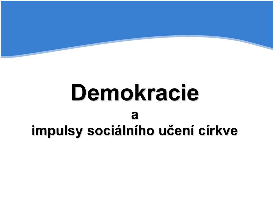 Krize demokracie - znechucení z politiky, pokles legitimity, odcizení politickým institucím, ztráta hodnotových orientací a rozpadu morálního řádu, korupce Vzpoura davů (Ortega y Gasset, 1930) – masová společnost rozvrací civilizovanou společnost a morální řád Eroze moci státu – v souvislosti s globalizací Postdemokracie - jako ideologie vzniká částečně na základě frustrace z fungování demokracie, koncept občanské společnosti se staví do souvislosti s oslabováním principů reprezentativní demokracie (tato může být dána nedokonalostí demokratických mechanismů, ale zejména pocit některých jednotlivců a skupin, že v klasické demokratické soutěži priorit a zájmů není dán prostor jejich konkrétním zájmům, proto hledají jiné nástroje k prosazení svých zájmů a priorit).