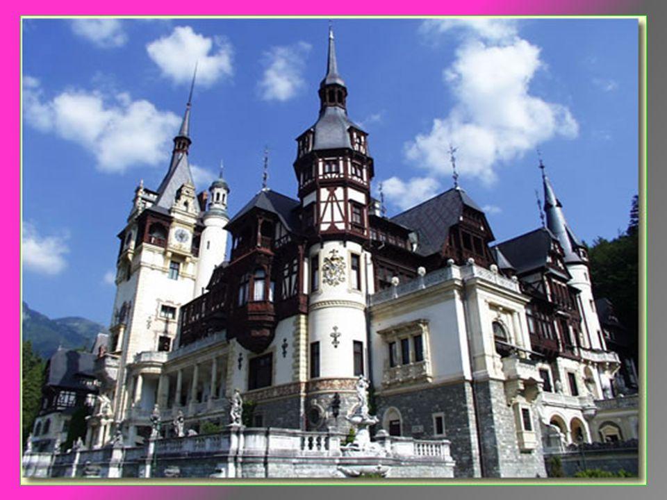 Transylvánie–hrad-zámek-Peleš.Hrad Peleš stojí nedaleko horského střediska Sinaia.