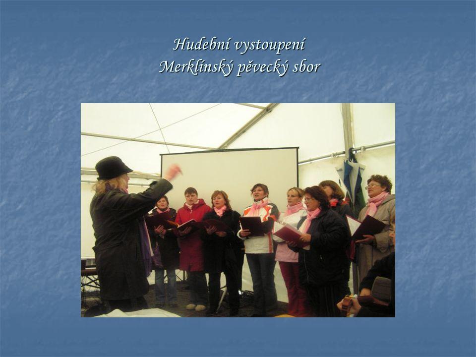 Hudební vystoupení Merklínský pěvecký sbor