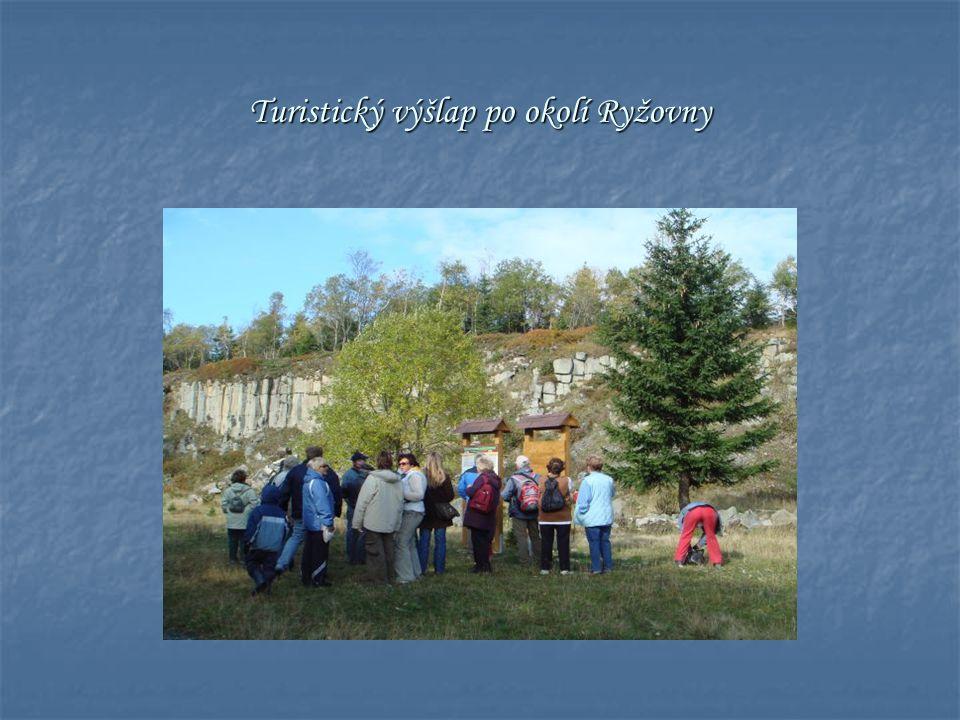 Turistický výšlap po okolí Ryžovny