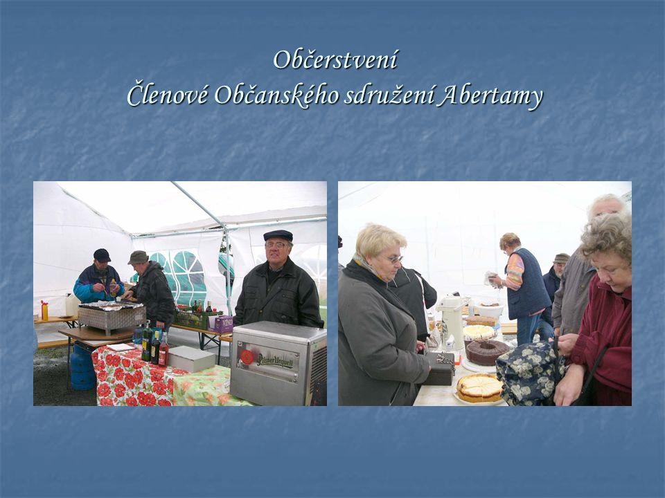 Občerstvení Členové Občanského sdružení Abertamy