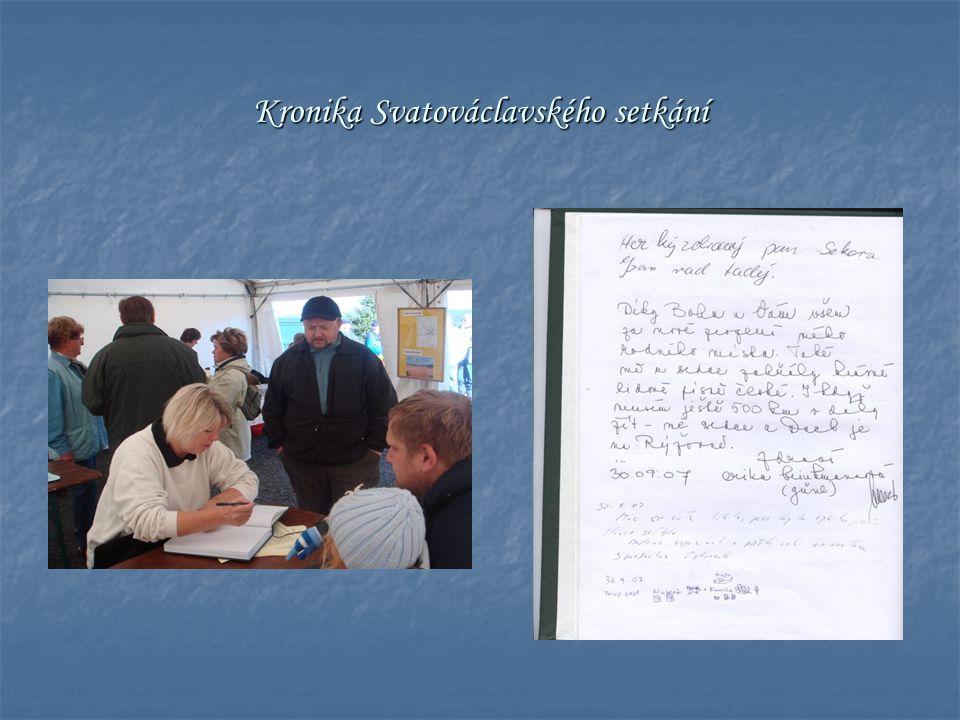 Kronika Svatováclavského setkání
