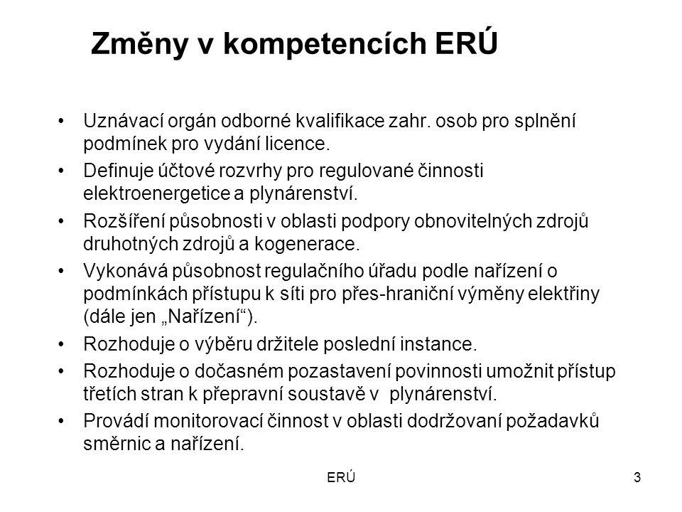ERÚ14 Energetický regulační fond Týká se pouze výrobců a distributorů tepelné energie.