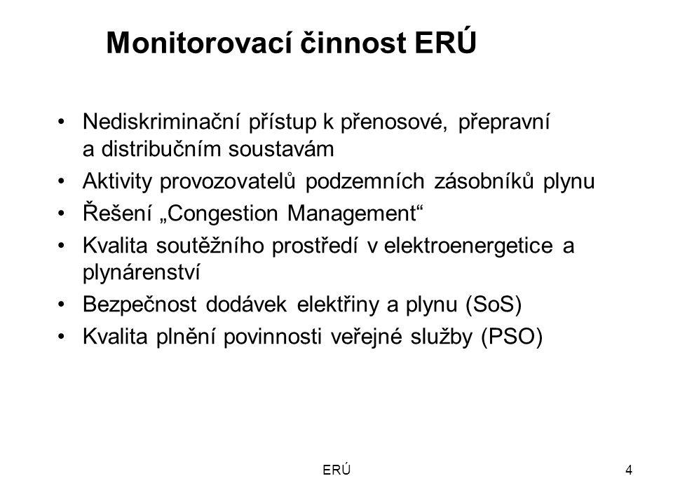 ERÚ15 Unbundling Snaha o zajištění právního, funkčního a informačního unbundlingu.