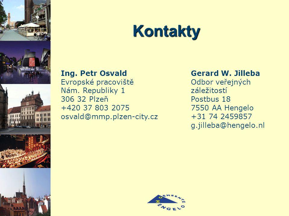 Kontakty Ing. Petr Osvald Evropské pracoviště Nám.