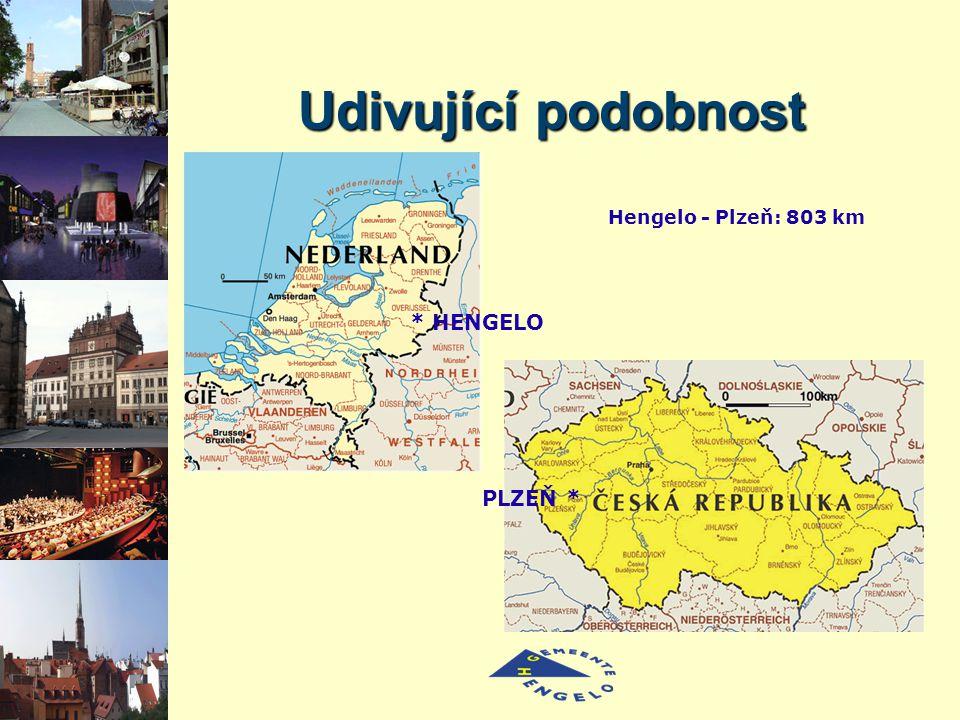 * HENGELO PLZEŇ * Hengelo - Plzeň: 803 km