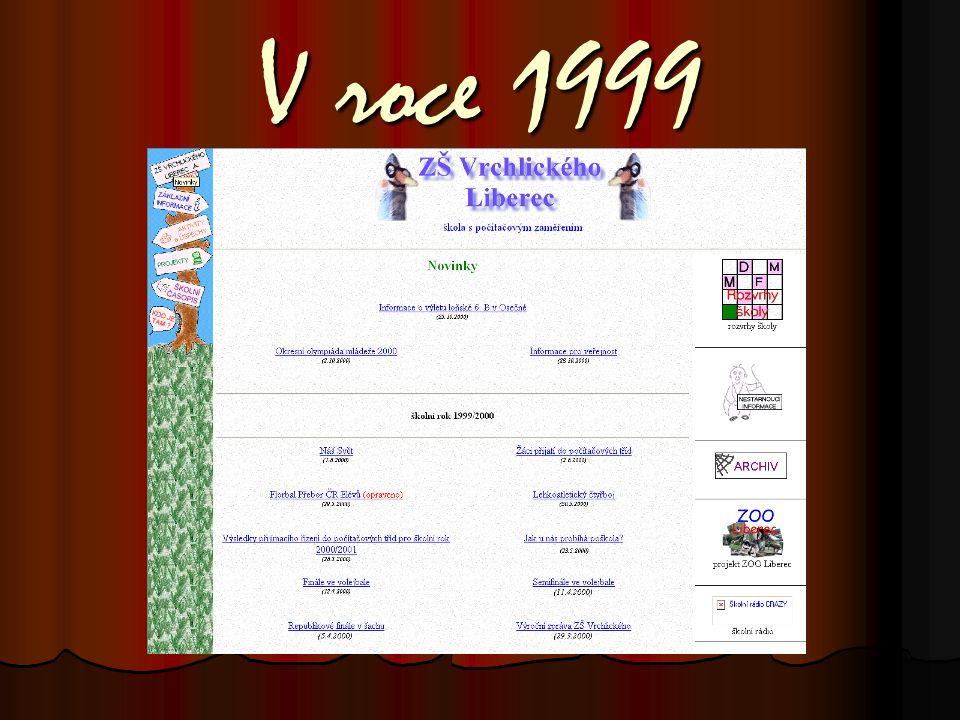 Jak se vyvíjely naše školní webové stránky