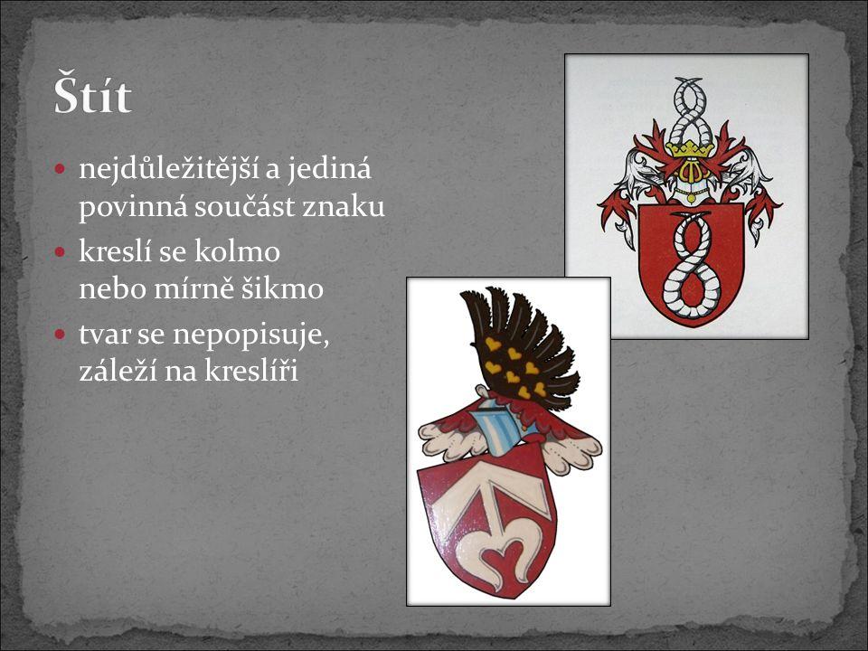 lidské postavy, andělé nebo heraldická zvířata podpírající erb obvykle ve dvojici musí stát na půdě nebo na stuze hesla užívají je státy, panovníci, vysoká šlechta