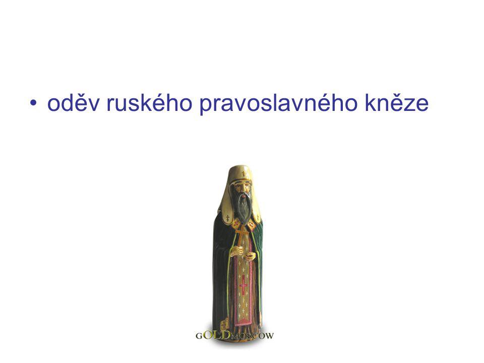 oděv ruského pravoslavného kněze