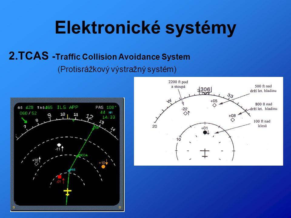 Elektronické systémy 3.ILS – Instrument Landing System (Přesný přistávací systém)