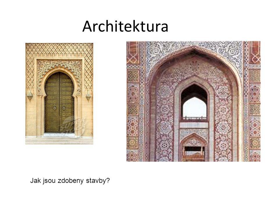 Architektura Jak jsou zdobeny stavby?
