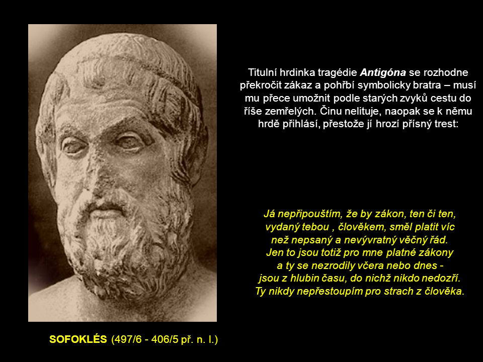 SOFOKLÉS (497/6 - 406/5 př. n.