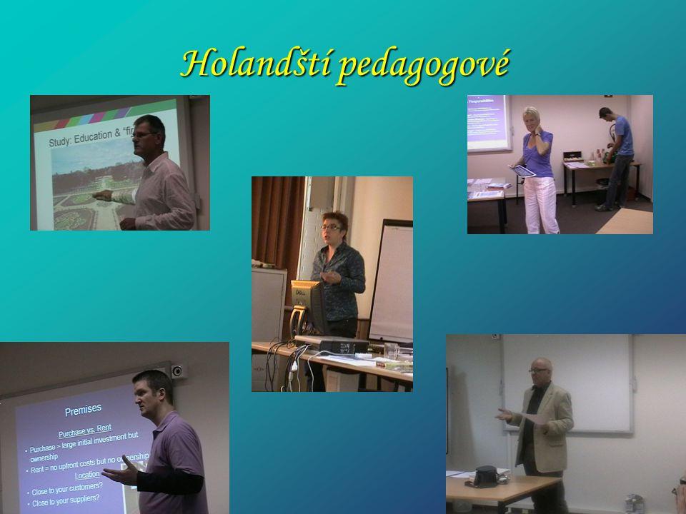 Holandští pedagogové