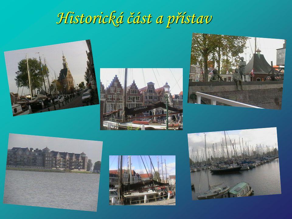 Historická část a přístav Historická část a přístav