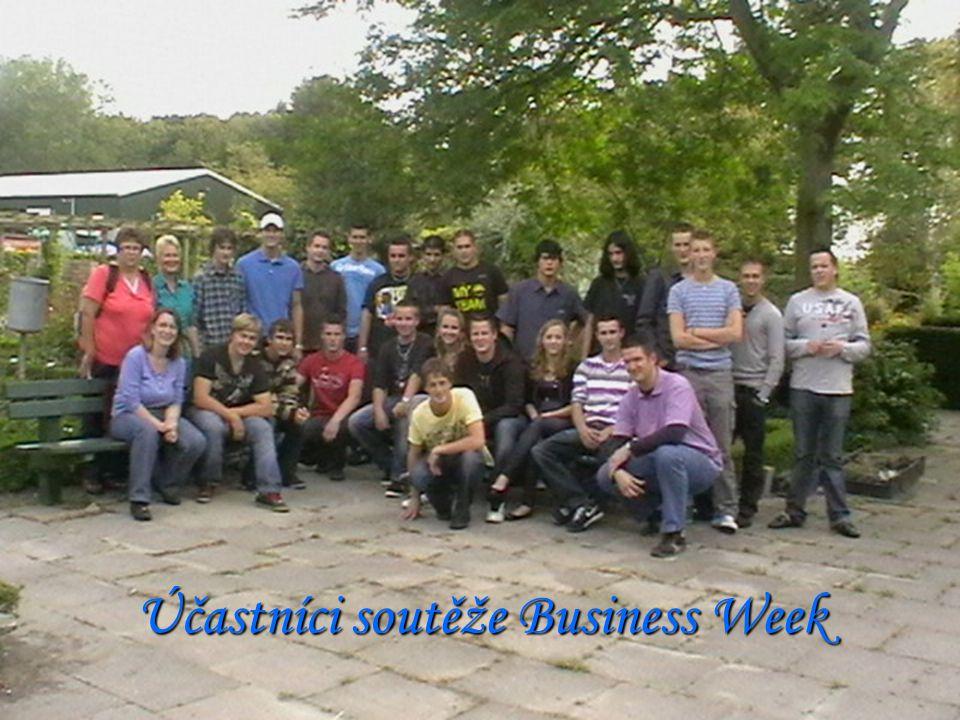 Účastníci soutěže Business Week