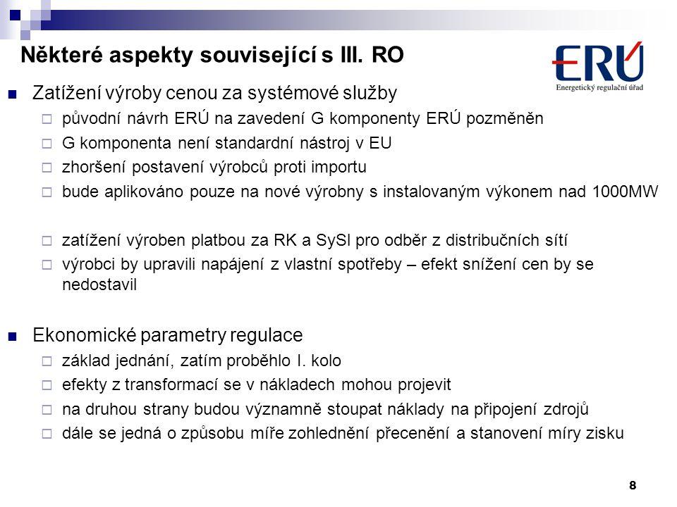 8 Některé aspekty související s III.