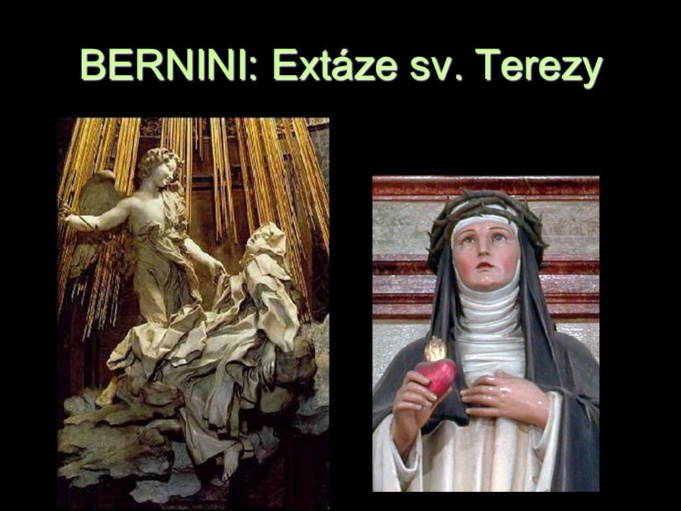 BERNINI: Extáze sv. Terezy