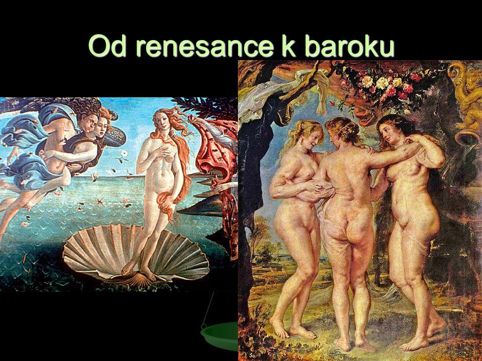 Od renesance k baroku