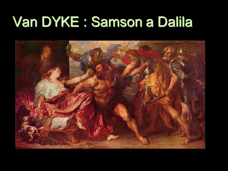 Van DYKE : Samson a Dalila