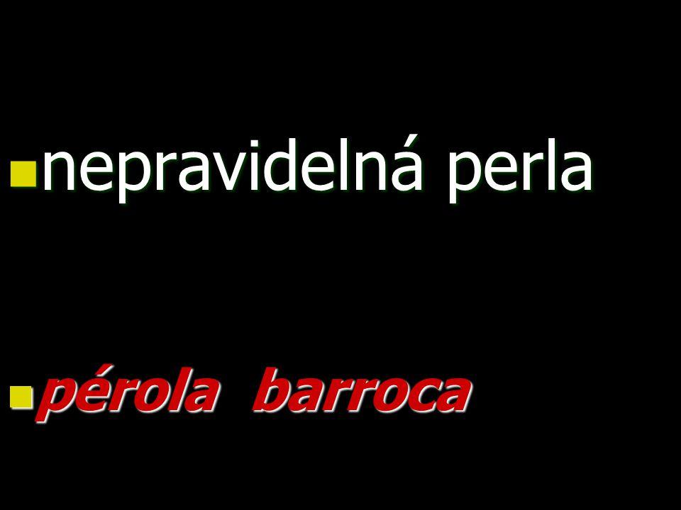 nepravidelná perla nepravidelná perla pérola barroca pérola barroca