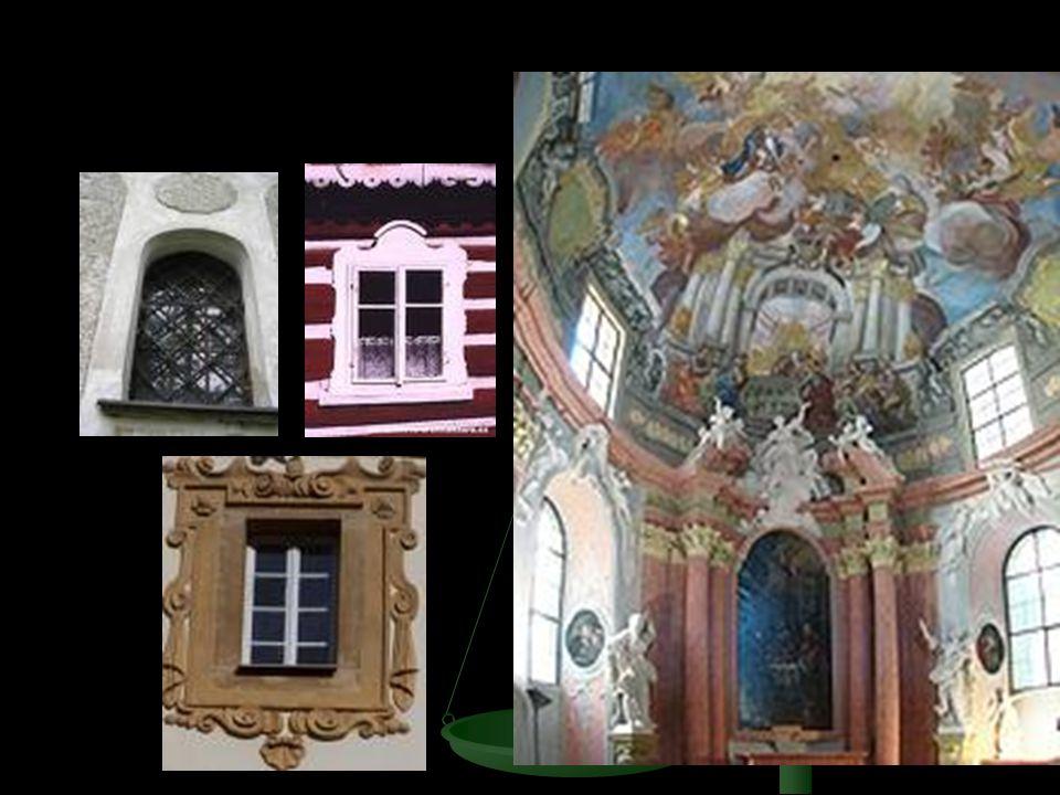 Světci a mučedníci všude fasády, interiéry, balustrády, podloubí, mosty, morové sloupy