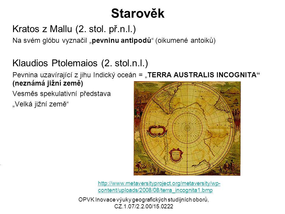 Zlatá horečka - Ballarat (podle:http://new.dpi.vic.gov.au/__data/assets/image/0012/19200/33_sluicingBallarat1870s_250x276.j pg )http://new.dpi.vic.gov.au/__data/assets/image/0012/19200/33_sluicingBallarat1870s_250x276.j pg OPVK Inovace výuky geografických studijních oborů, CZ.1.07/2.2.00/15.0222