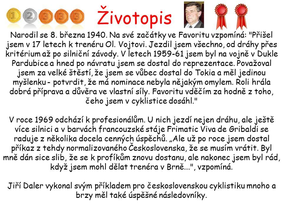 Životopis Narodil se 8. března 1940. Na své začátky ve Favoritu vzpomíná: