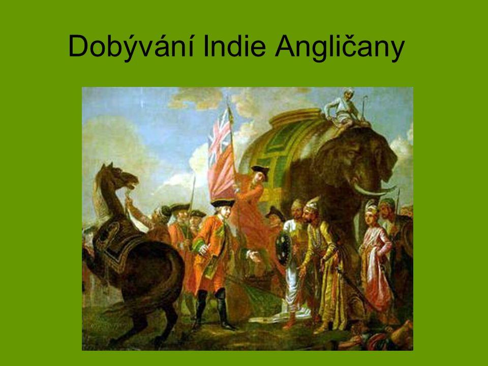 Dobývání Indie Angličany