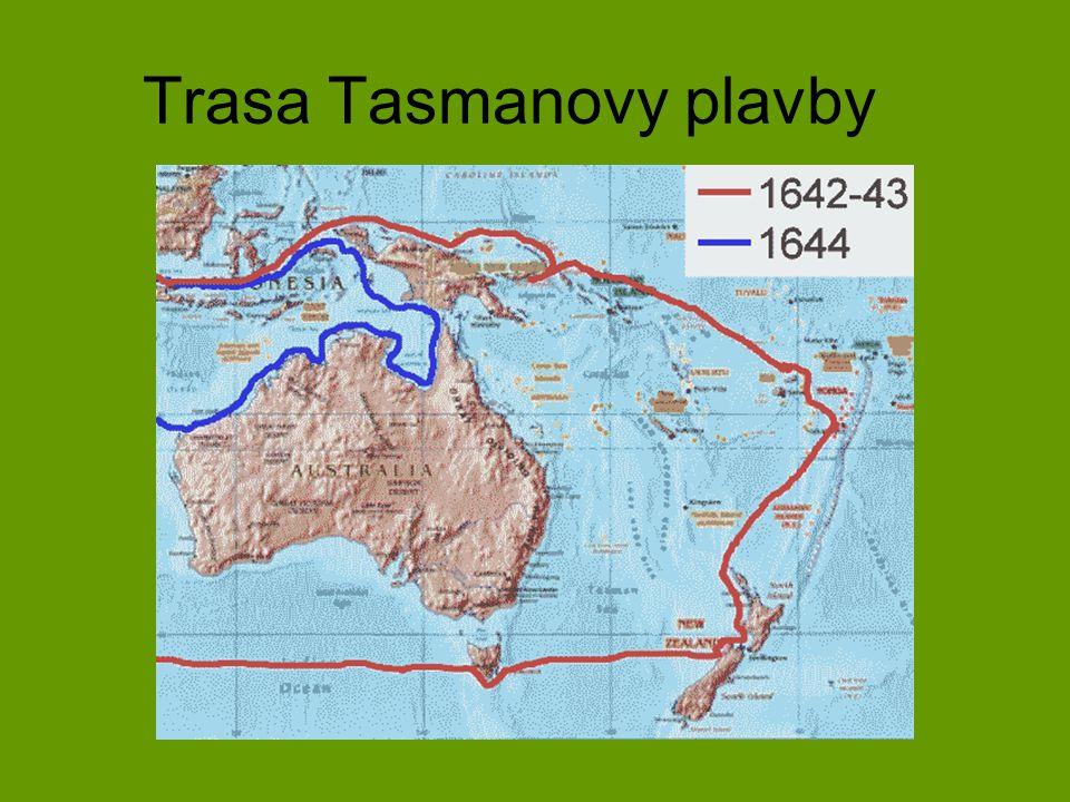 Trasa Tasmanovy plavby