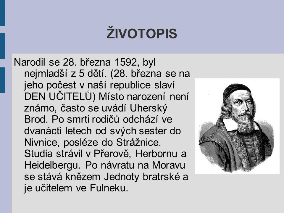 ŽIVOTOPIS Narodil se 28.března 1592, byl nejmladší z 5 dětí.