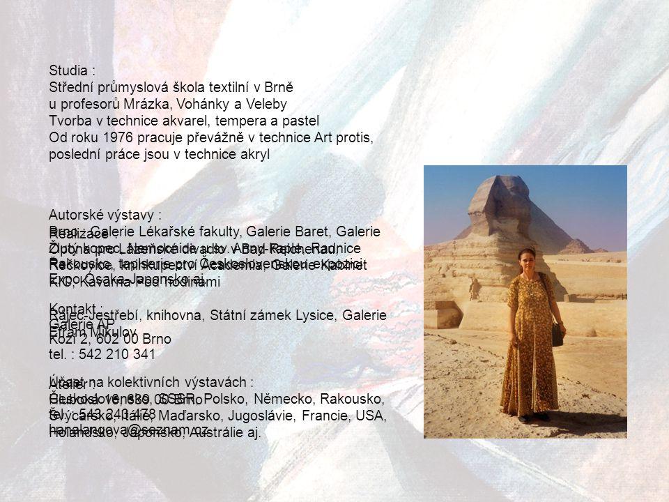HANA LANGOVÁ - VEPŘEKOVÁ