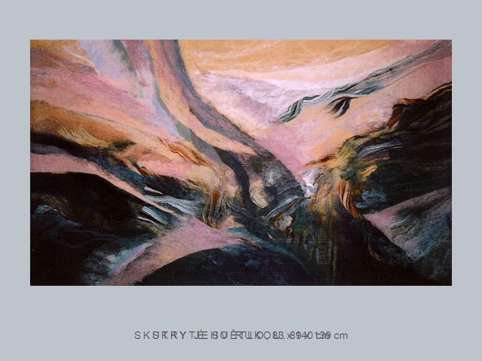 POUTNÍCI ČASEM, 77 x 102 cm