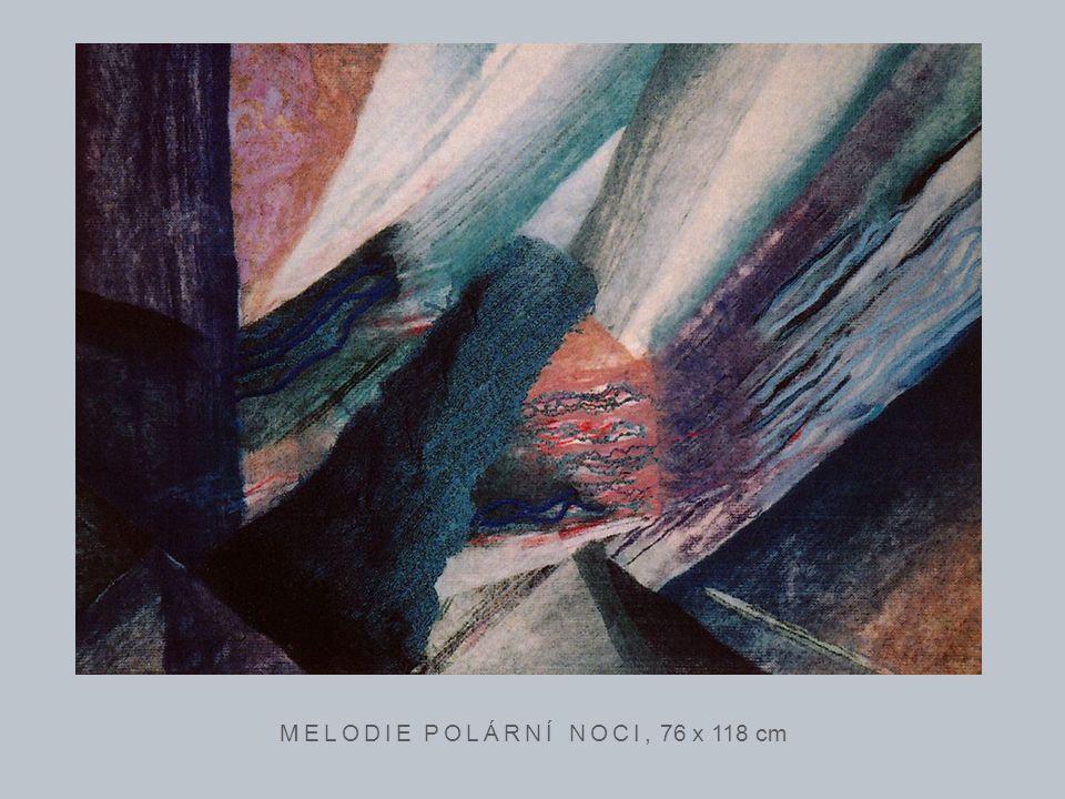 CESTA ANDĚLŮ, 61 x 87 cmMAGICKÁ HLUBINA, 97 x 141 cm