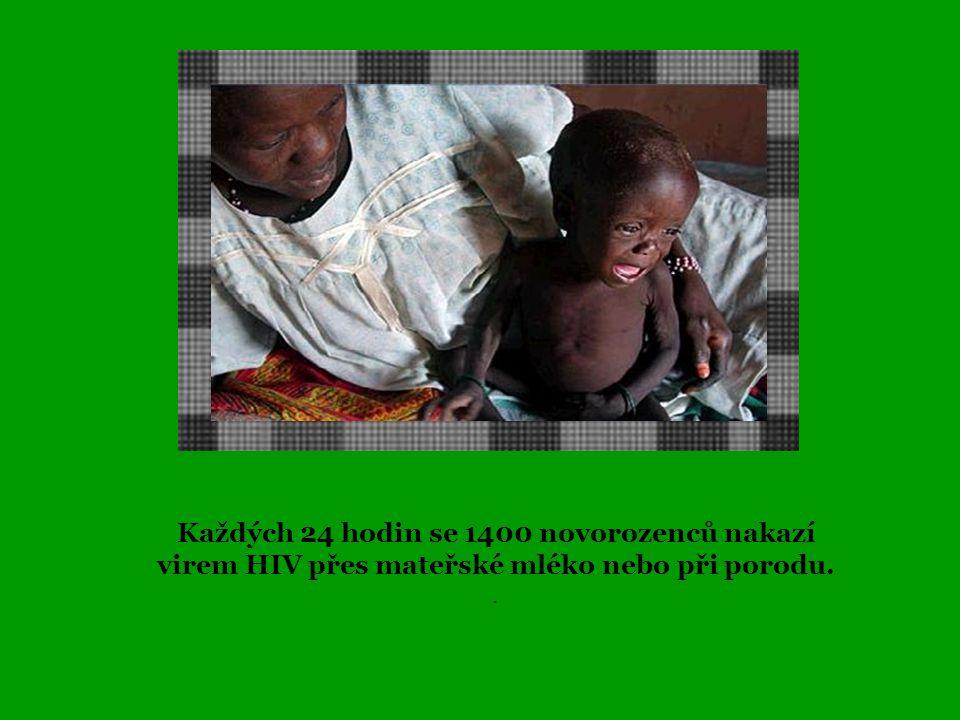 Každý den v Africe umře na HIV/AIDS 6 600 lidí. Denně se v Africe infikuje virem HIV více než 8 800 lidí.