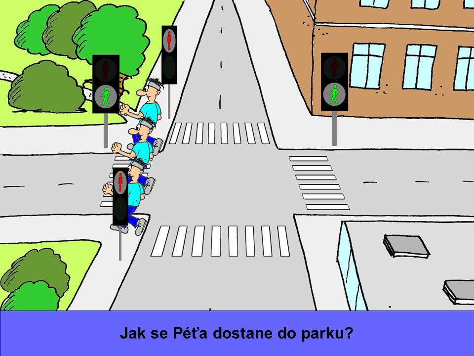 Jak se Péťa dostane do parku