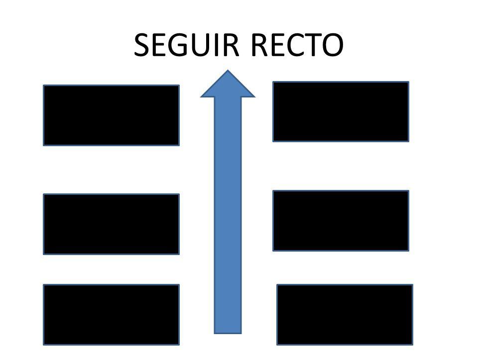 SEGUIR RECTO