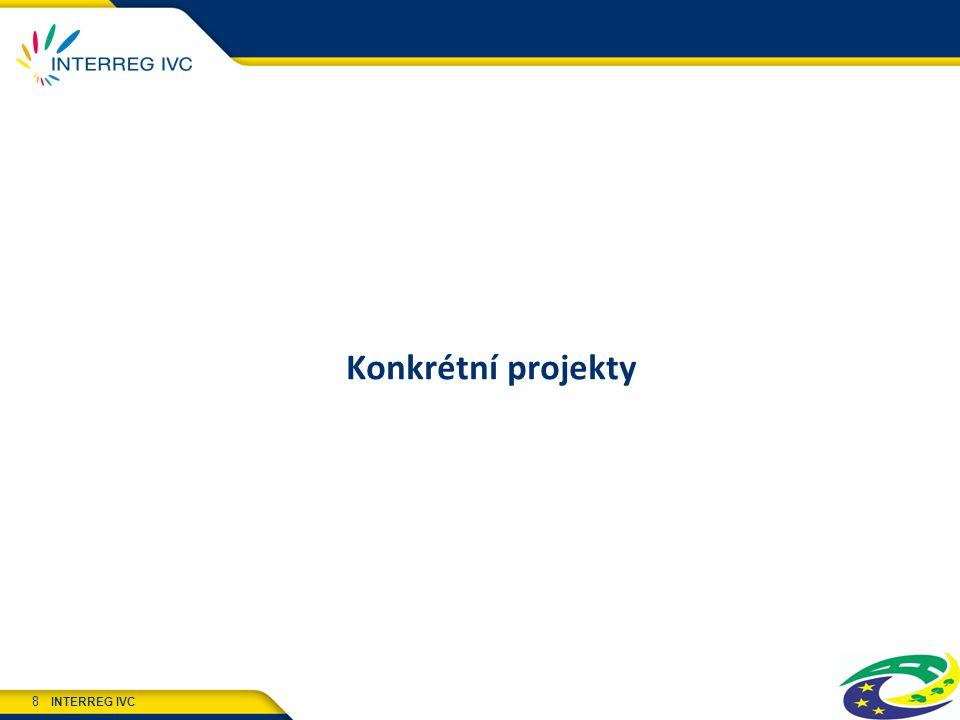 INTERREG IVC 8 Konkrétní projekty