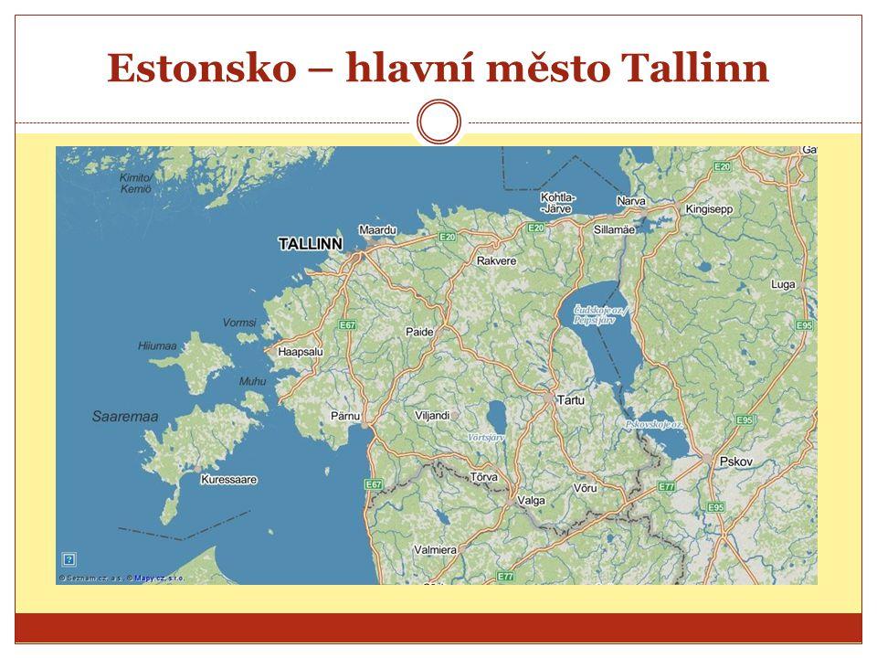 Estonsko – hlavní město Tallinn