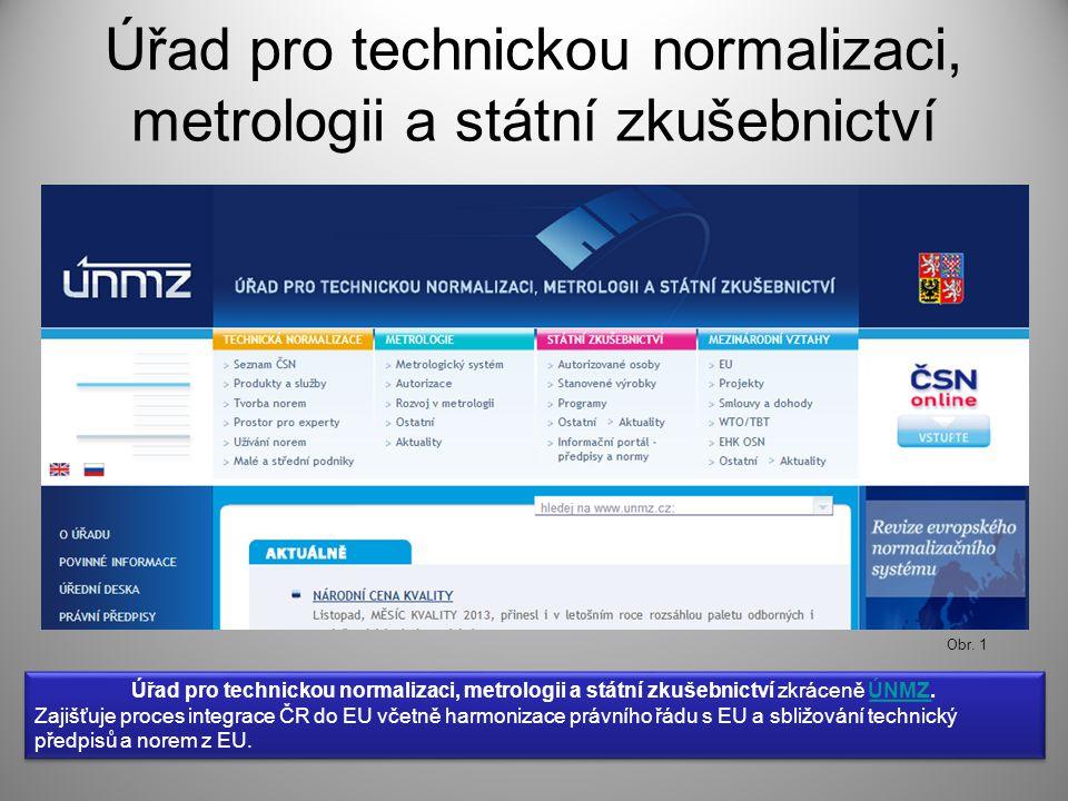 Seznam českých technických norem Seznam online Seznam v PDF Obr. 3 Obr. 2