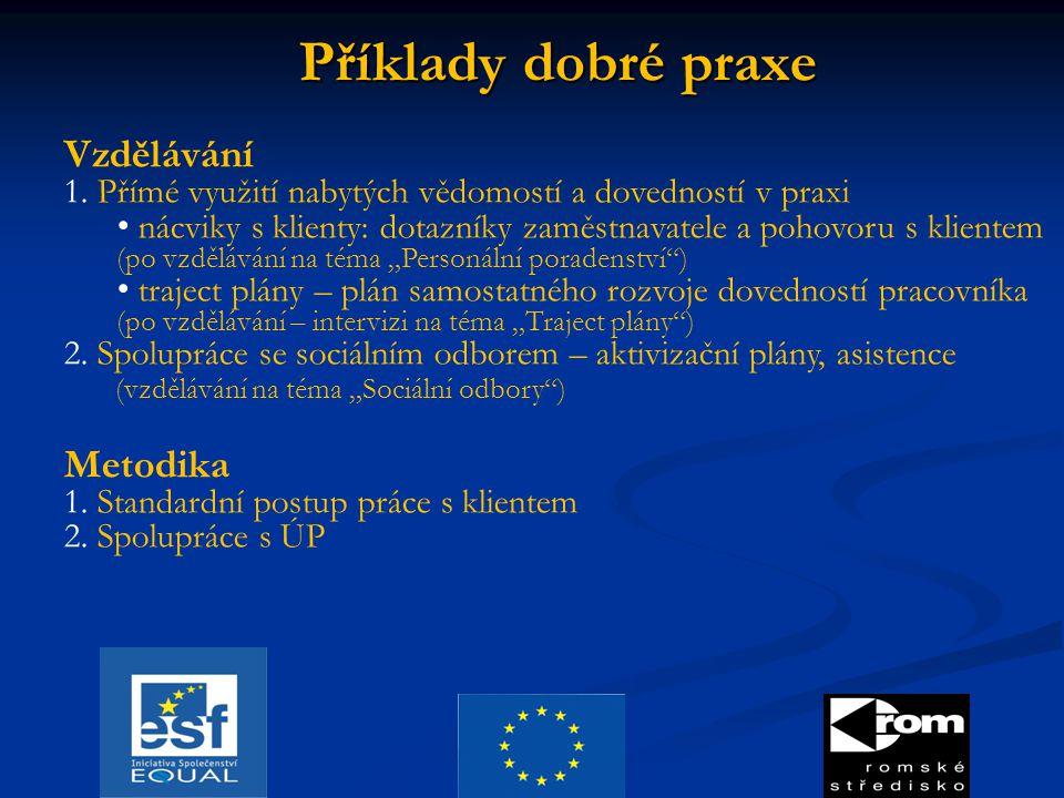 Příklady dobré praxe Vzdělávání 1.
